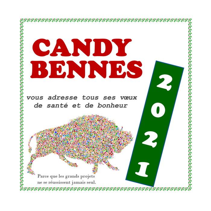 Toute l'équipe Candy Bennes vous adresse ses meilleurs voeux